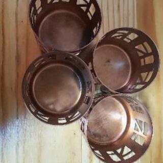 銅製キャンドルホルダー❓️ - 家具