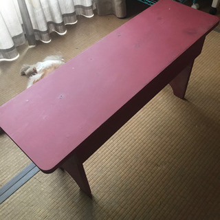 おしゃれ シャビー アンティーク  台 テーブル ベンチ ナチュラル