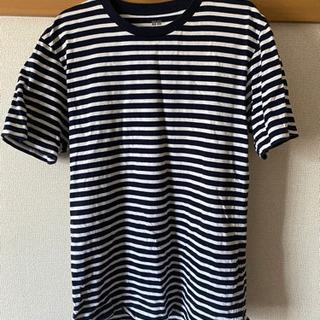 ユニクロ ボーダー Tシャツ 美品
