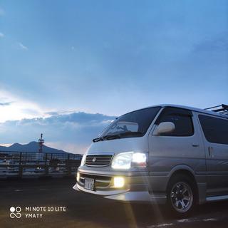 【希少車】最終型100系ハイエースワゴン スーパーカスタムリミテ...