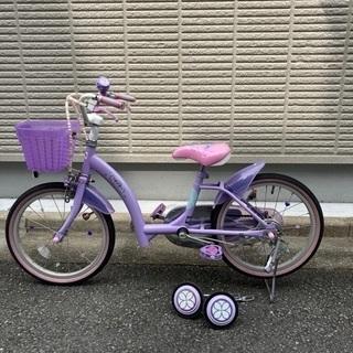 子供自転車18インチ 小さなプリンセスソフィア