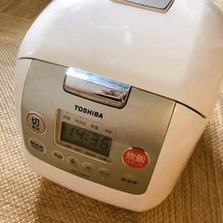 TOSHIBA 5.5合 炊飯器 多機能