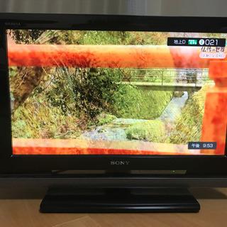 テレビ 20インチ SONY BRAVIA