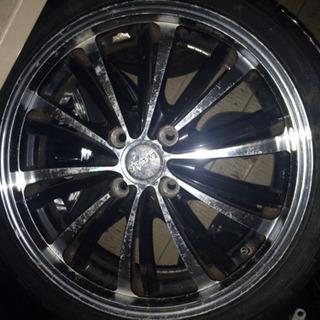 16インチ ホイール 4本 タイヤ新品 社外