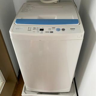 未使用品 洗濯機4キロ(取引中)