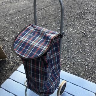 中古 折り畳み式ショッピングカート
