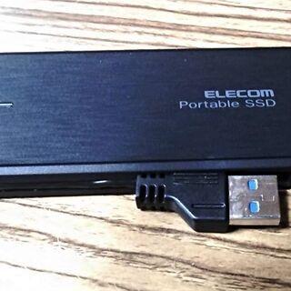 商談中 外付けSSD 480GB (中古)②