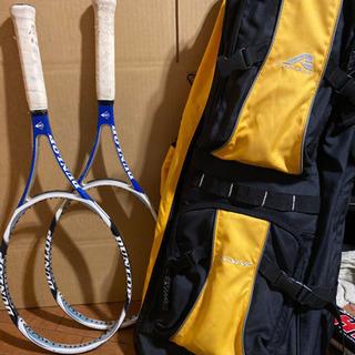 (受け渡し者様決定)テニスラケット2本、テニスバック