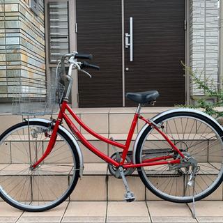 26インチ 中古 外装6段ギア 自転車