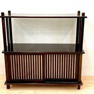 和風家具 古民具 茶箪笥 収納家具 木製 アンティーク 古家具 飾り棚