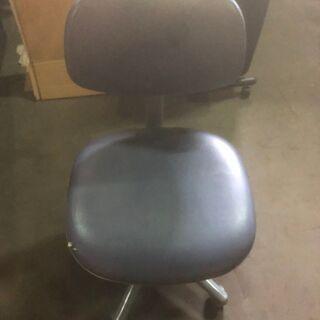 【無料】事務椅子 チェア 勉強イス 青系 無料 0円 あげます