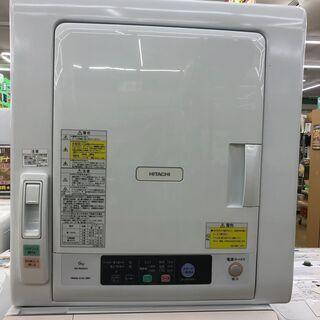 値下げしました!HITACHI ヒタチ 6.0kg衣類乾燥機 2...