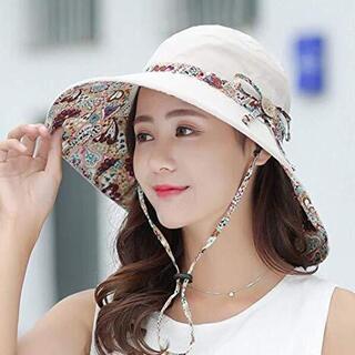 レディース 帽子 ハット 日よけ 紫外線対策 お出かけ 送料込み UVカット専用 42 - 服/ファッション