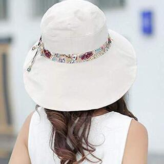 レディース 帽子 ハット 日よけ 紫外線対策 お出かけ 送料込み UVカット専用 42 - 売ります・あげます