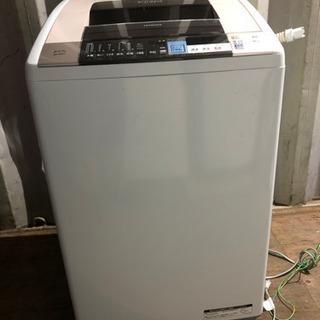0917-103 日立洗濯機 BW-D8SV 2014年製…