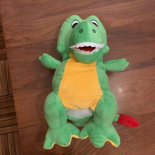 パペット 恐竜未使用♪