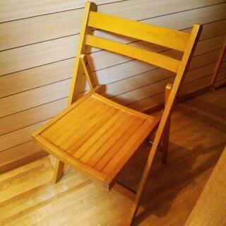かなりしっかりした折りたたみもできる椅子です😃