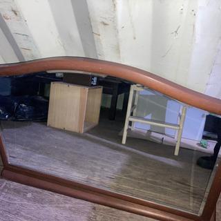 0917-35 置き鏡 大きめ 横長