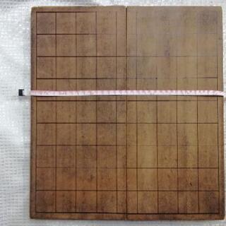 古い折り畳み式将棋盤