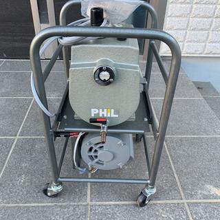 PHIL  ベルト駆動型油回転真空ポンプ TSW-150