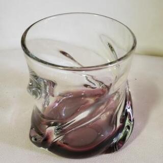 琉球ガラスロックグラス(紫)