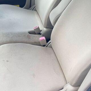 出張車内清掃(布製シートをキレイにします!)