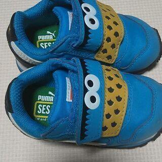 プーマ ☆靴☆クッキーモンスター12cm