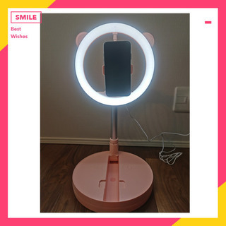 LED リングライト (未使用)