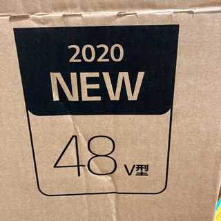 【ネット決済・配送可】最新48インチ4K有機ELテレビ