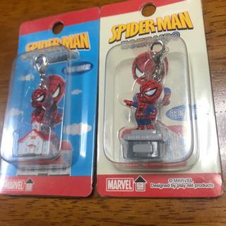 新品 ストラップ スパイダーマン