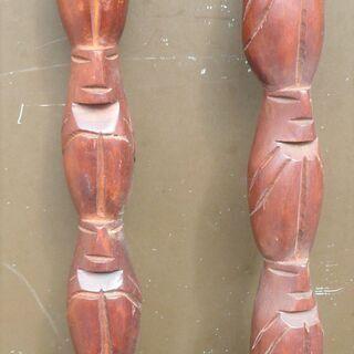 ☆木彫りのスプーン&フォーク インテリアに最高!◆ユニークでおしゃれ - 横浜市