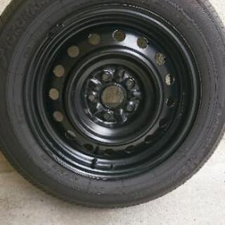 GRX130 マークX 16インチ 鉄チン スチールホイールタイヤ付き