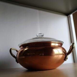 新品 銅製カレー鍋 CAFFERIA COPPER WAR…