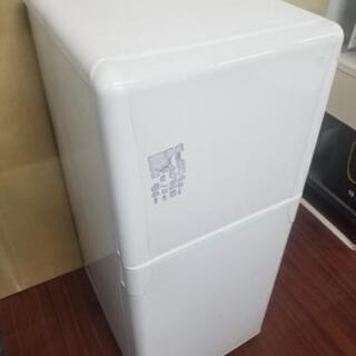 120リットル 2ドア冷蔵庫 - 下関市