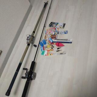 釣り竿と小物セット
