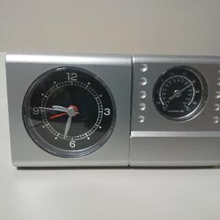 温度計付置時計の画像
