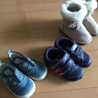 13.14.15cm 子ども靴セット