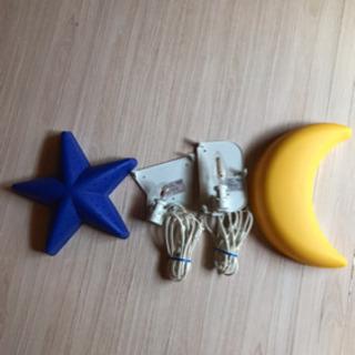 IKEAお星様と月のライト