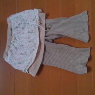 80㎝ 女児用 ズボン