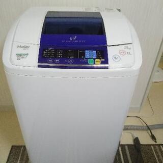 Haier洗濯機!風乾燥機能付!2013年式