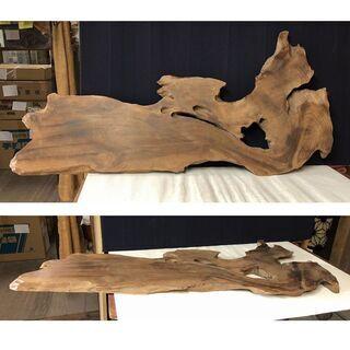 c913 敷板 木製 飾り板 花台 盆栽台 茶道具 盆栽道具