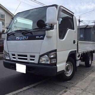 静岡市清水区から!いすゞ エルフ 平ボディー NHR69 予備検...