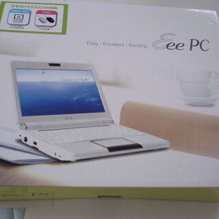 モバイルノートパソコン Eee pc901 です。