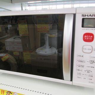 シャープ 電子レンジ RE-S50A-W 中古品 オーブン機能付き