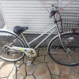 ギア付き自転車 27インチ 早い者勝ち0円
