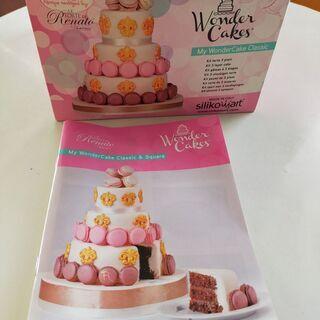 ケーキ三段型/シリコン(未使用)