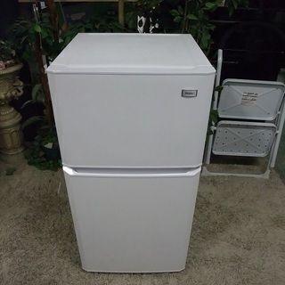 ■R1970) ハイアール 2ドア冷凍冷蔵庫 106L JR-N...