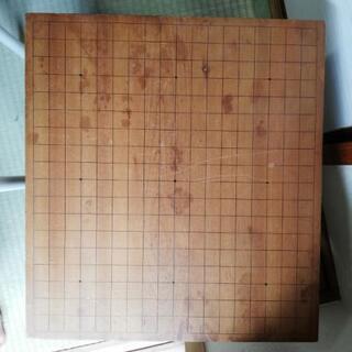 値下げ 碁盤木製 10センチの厚み
