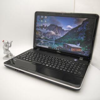 富士通  Celeron メモリ8GB HDD750GB ノートパソコンの画像