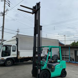 2015年製 三菱 フォークリフト ディーゼル 2.5トン 3段...